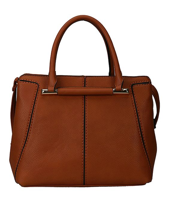 Look what I found on #zulily! Rimen & Co. Brown Divided Compartments Tote by Rimen & Co. #zulilyfinds