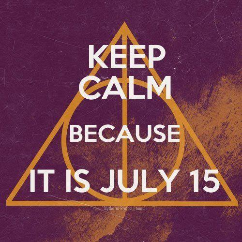 Harry Potter - July 15