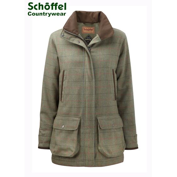 Country Tweed Coats Ladies