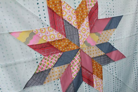 Bea Spoke Quilts: Start to Finish/lone star tutorial