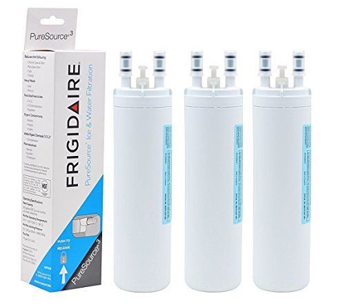 Watrure Wf3cb Pure Source 3 Replacement For Frigidaire Wf3cb Puresourcerefrigerator Water Filter Kenmore 4699 With Images Refrigerator Water Filter Water Filter Frigidaire