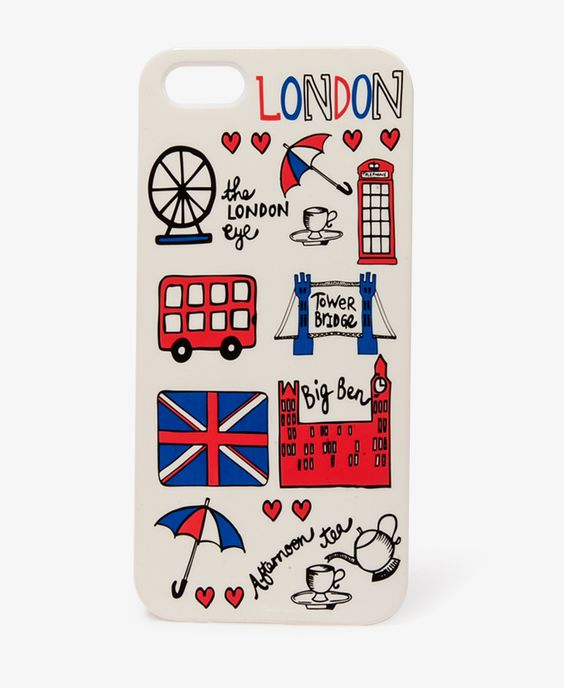 $7.80 London Graphic Phone Case | FOREVER21 - 1048925170
