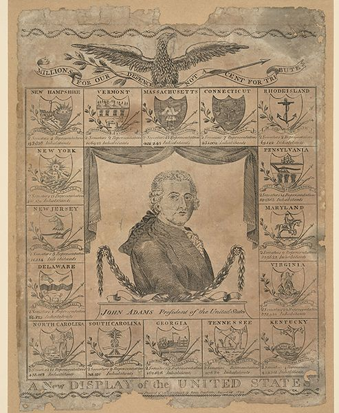 a political analys of john adam the second president of the united states As the end of the 18th century drew near, relations between the united states  and france were deteriorating president john adams wanted to preserve.