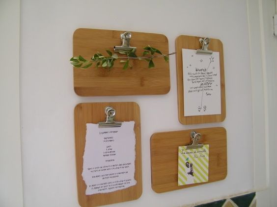DIY - How I hung my bamboo cutting boards on the wall