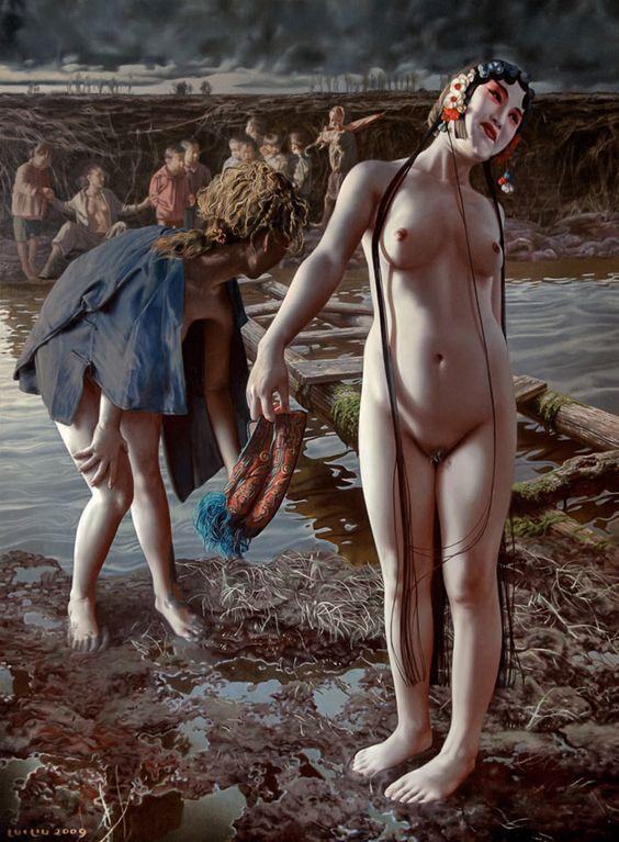 Conheça a arte impressionante de Lui Liu