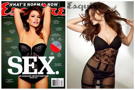 Sofia Vergara strips for Esquire and gives advice on dating a Latina