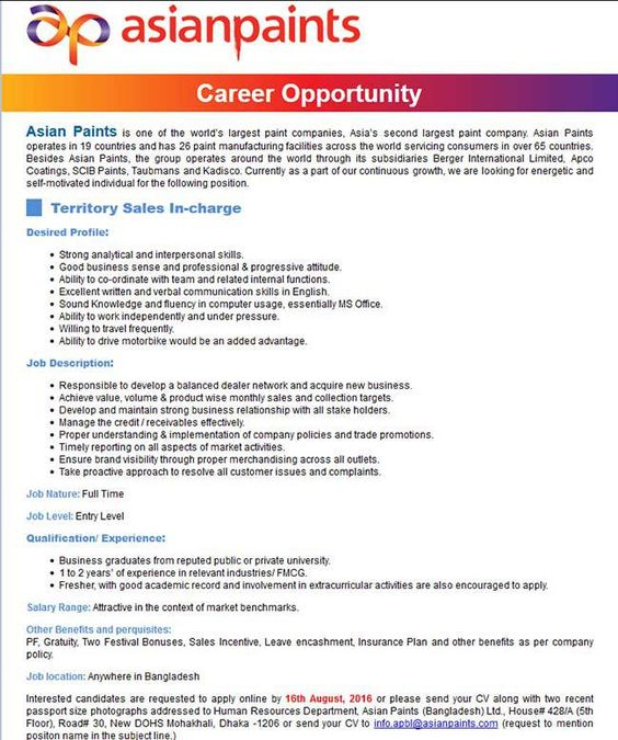 Passport Specialist Sample Resume চাকরি এশিয়ান পেইন্টিংস  Asinn  Pinterest .