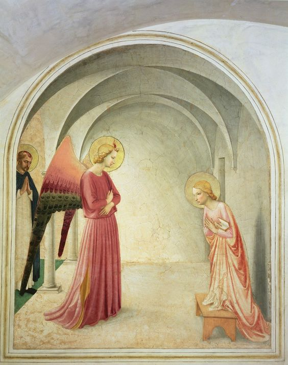 The Annunciation (1442)  Fra Angelico