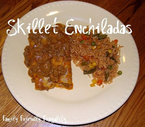Frugal Recipes: Skillet Enchiladas