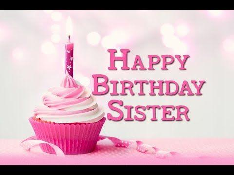 Fabulous Happy Birthday Wishes Happy Birthday My Sister Whatsapp Status Personalised Birthday Cards Rectzonderlifede