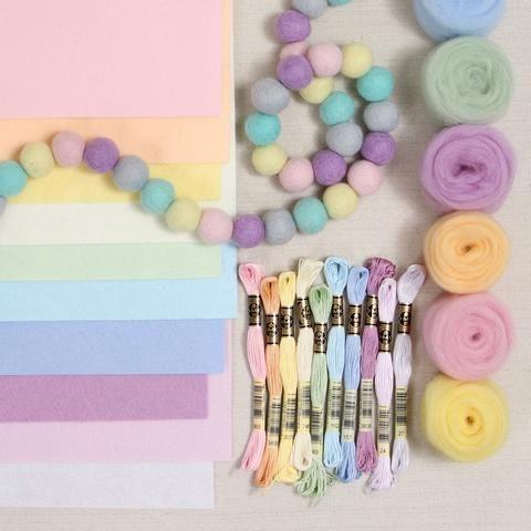 Pixie Dust Palette Felt Beads Pixie Dust Fairy Crafts