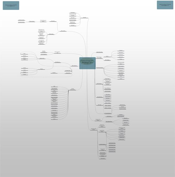 Risk Management Plan Mind Map  Excel Templates    Risk