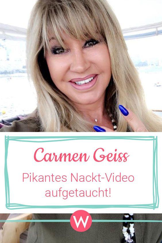 Carmen nackt junge geiss Carmen Geiss