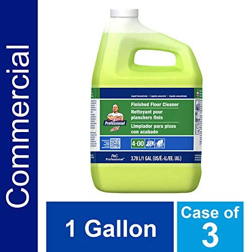 P G Professional Floor Cleaner From Mr Clean Professional Bulk Liquid Concentrate Fro Hardwood Tile Or Terrazo Floors Commercial Use Lemon Scent 1 Gal C In 2020 Cleaning Cleaning Household