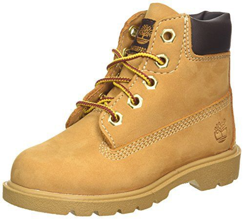 Timberland 6 In Classic Boot FTC_6 In Classic Boot, Bottines avec doublure intérieure mixte enfant, Jaune, 39.5: Price:89.99The Icon 6-inch…