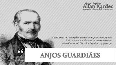 Anjos guardiães | Grupo Espírita Allan Kardec