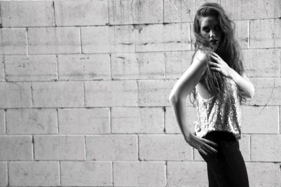 @Tracy Nour in #eightsixty #sequin tank