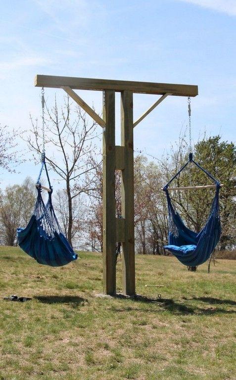 Relax And Comfy Backyard Hammock Decor Ideas Backyard