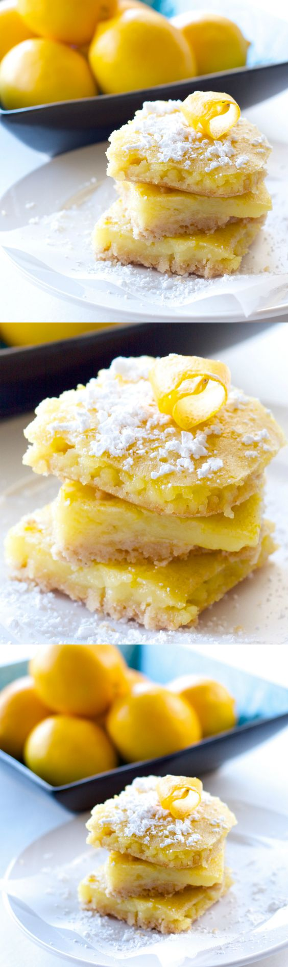 Healthy Meyer Lemon Bars. This healthy version is only 87 calories and ...