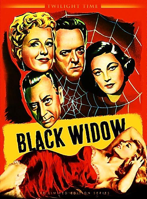 La Veuve Noire Film 1954 : veuve, noire, Veuve, Noire, Black, Widow,, Cinema, Posters,, Twilight