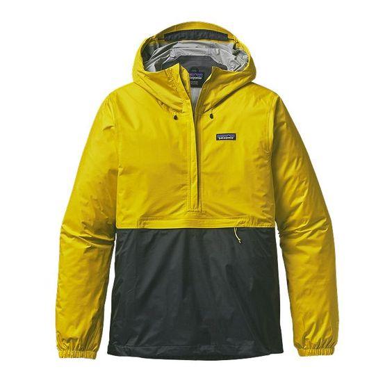 Patagonia Men\'s Torrentshell Pullover - Yosemite Yellow YSMY