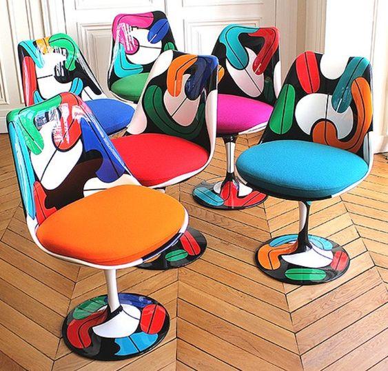 Quand la chaise tulipe devient une autre fleur par Bruno Schiepan - Journal du Design