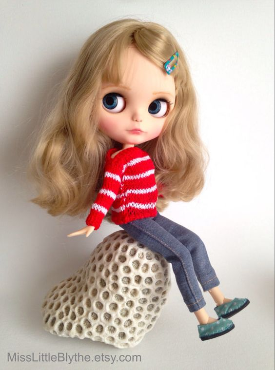 OOAK Custom Blythe Doll fake - Beatrice