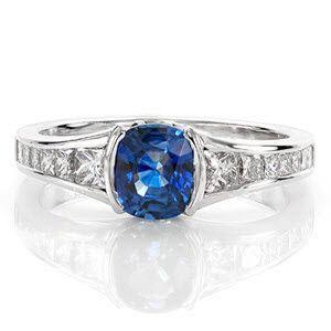 Knox Jewelers in Minneapolis Minnesota - Sapphire Engagement Rings