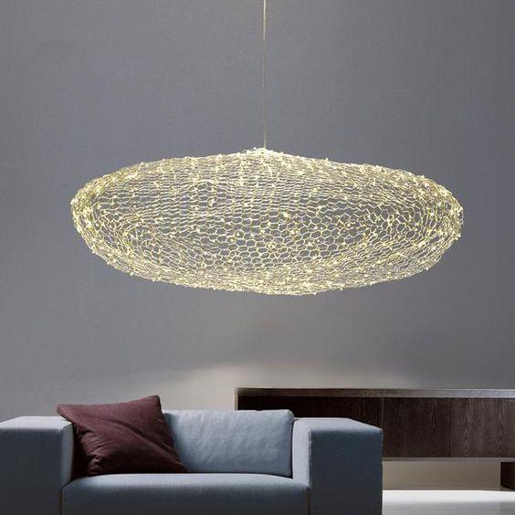 Moderne Kronleuchtermodelle in 2020 | Wolkenlampe, Art deco