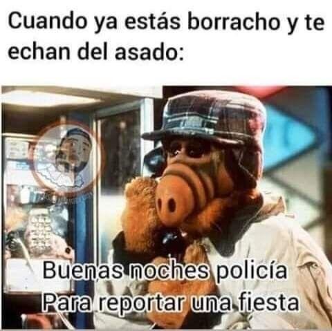Pin De Susy Acevedo En Meme En 2021 Policia Borracho Buenas Noches