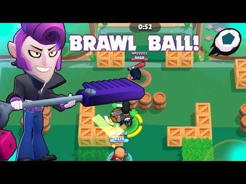 Brawl Ball Trickshots Epic Goals Mortis Gameplay Brawl Stars Youtube In 2020 Brawl Epic Ball