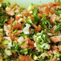 Pico de Gallo & Guacamole by Mike  I'm fixing a mexican meal tonight for dinner and I'm fixing this as an appetizer and serve it with tortilla chips.