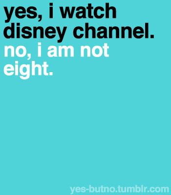 """And no it's not garbage. Good luck charlie is amazing and people have always said disney was garbage even when the """"old disney"""" was on... I just love it..."""