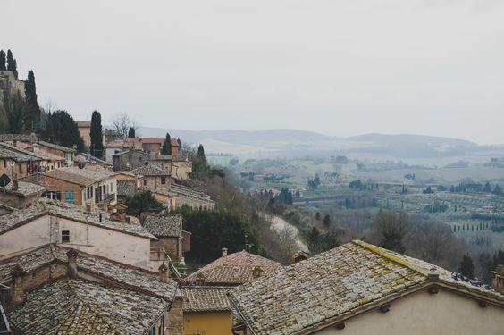 Montalcino, Italia • dicasdeviagem •eurotrip