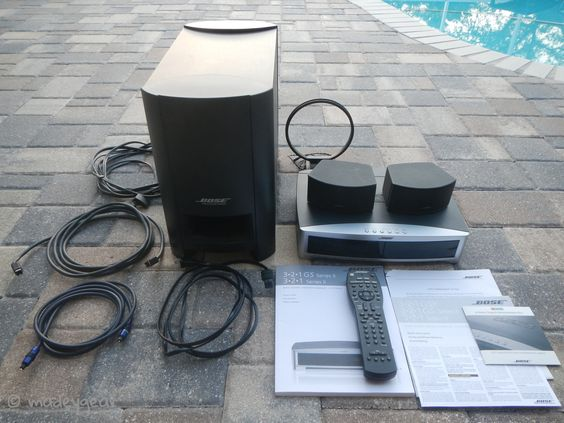 Bose 321 Series II Music DVD CD Home Theater System Complete Great Condition