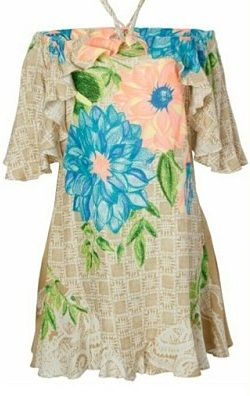 Vestido Florido / jahsaude