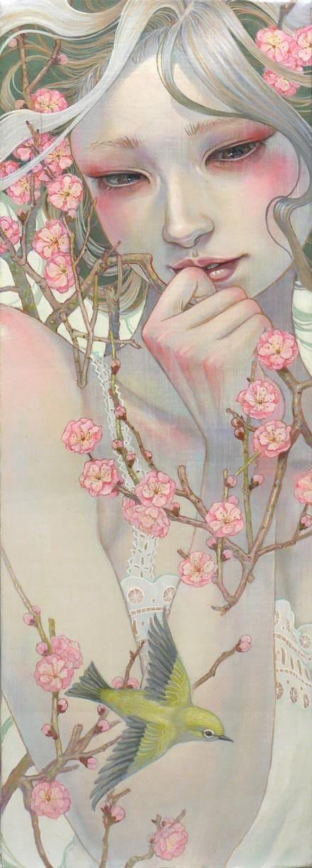 Девушка весна