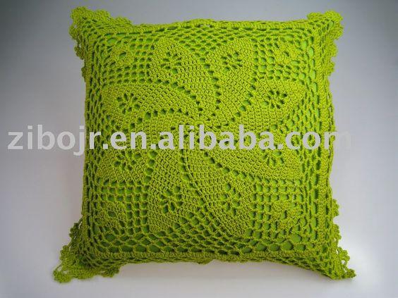 Cojines a crochet patrones imagui cojines en crochet - Cojin de crochet ...