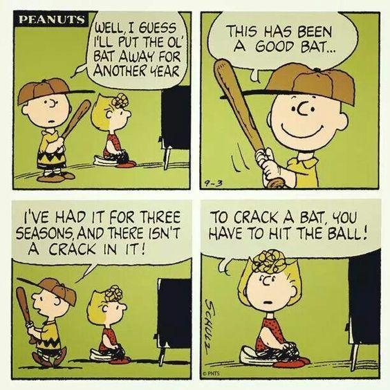 Baseball and Charlie Brown