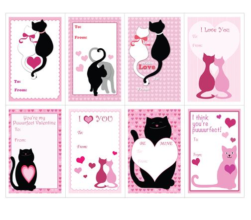 images about Printable Valentines Day Cards Crafts For Kids