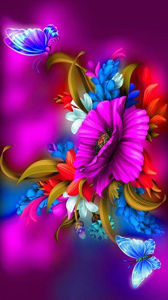 GIFS HERMOSOS: flores y paisajes encontradas en la web: