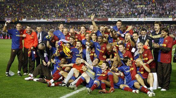 Copa del 2009. FOTO: MIGUEL RUIZ-FCB. Cinco Años De Una Final De Copa Memorable.