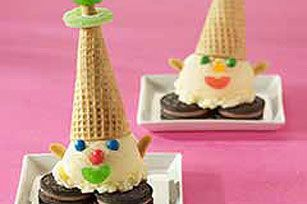Ice Cream Clowns - the perfect sweet and easy treat for a child's birthday party!