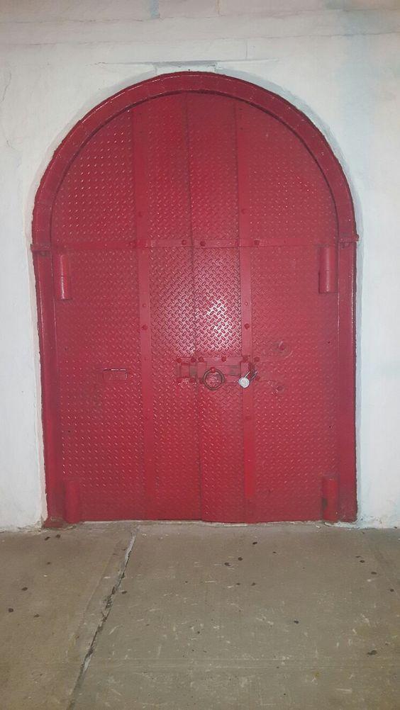 Parish door, East Village, LES, NYC..
