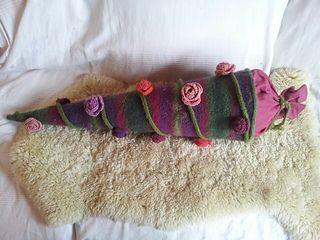 Gestrickte Schultüte. Wolle ist bestellt - bald geht es los :-)