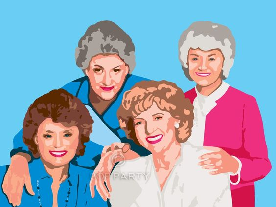 Golden Girls Paint By Numbers Kit