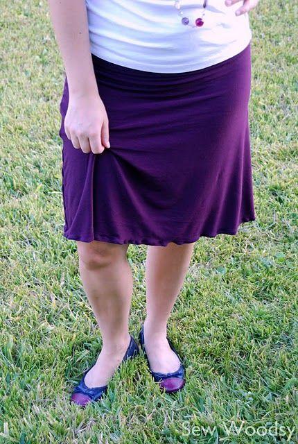 DIY Knit skirt