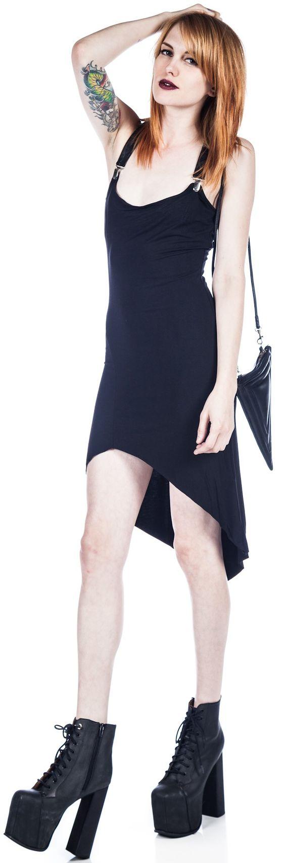 widow garter dress