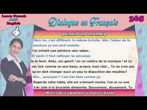 239 Dialogues En Francais French Conversations Dialogue En Francais N 365 Youtube Apprendre Le Francais Dialogue Dialogue Francais