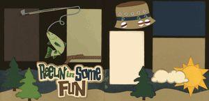 Reelin' In Some Fun Page Kit
